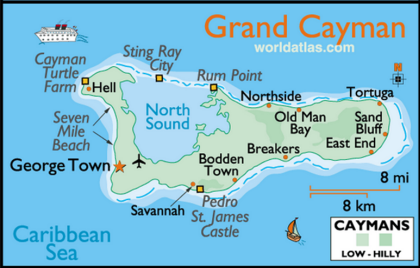 Grand Cayman on belize map, grenada map, acapulco map, tampa bay cruise port terminal map, jamaica map, bermuda map, cozumel map, florida map, bahamas map, grand turk map, st. thomas map, venezuela map, seven mile beach map, mexico map, dominican republic map, hawaii map, caribbean map, aruba map, grand caicos map, grand caymen,